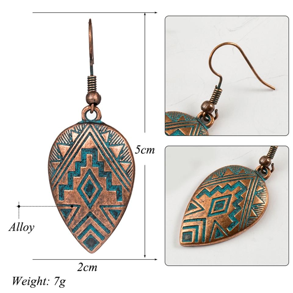 Boho Ethinic Dangle Drop Earrings Hanging for Women  1