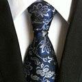 Mantieqingway Lazos de Marca para Hombre Vintage Paisley Impreso Pañuelo Corbata de Moda Trajes de Negocios 8 cm Corbata Hombre Regalos de Navidad