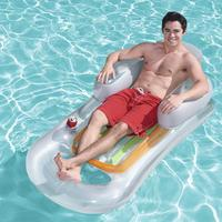 New Style Air Mattress Swimming Pool Beach Inflatable Float Ring Cushion Bed Lounge Chair Mattress Hammock Water Sports