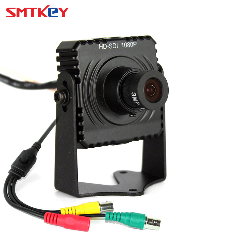 1080P mini HD SDI CCTV camera 1/3 inch progressive scan 2.1 Mega Pixel Panasonic CMOS Sensor 3M Pixels 3.6mm korean lens