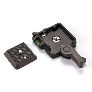 Image 3 - QR Quick Release Clamp Adapter Plate Mount for Monopod Tripod Ball Head Arca Benro