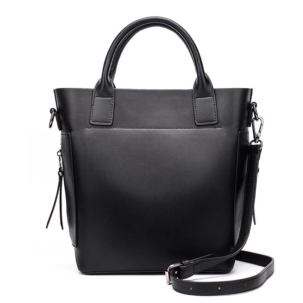 MIYACO Retro women Handbags Leather Tote bags Female Shopping Bags messenger bag High quality Crossbody bag