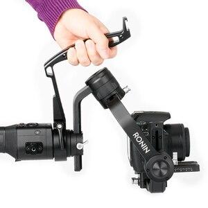Image 1 - Рукоятка AgimbalGear для штатива DJI Ronin S Gimbal, аксессуары для стабилизатора, рукоятка для видеокамеры, кольцо адаптер