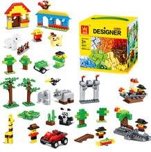 Creative Nano Building Blocks 625Pcs DIY Kids Educational Toys Brick brinquedos Compatible WANGE Gift