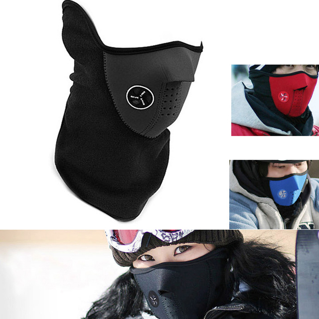 Anti-Dust Cycling Masks Headband Winter Outdoor Running Neck Warmer Bike Bicycle Riding Face Mask Head Scarf balaclava Bandana