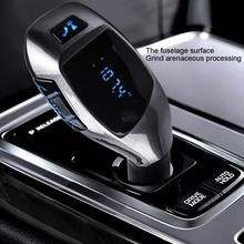 Fm Transmitter Bluetooth Car Kit Wireless  Radio Adapter FM Modulator Handsfree Music Mp3 Usb Player Audio For Smartphone VS G7