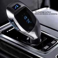 Fm Transmitter mp3 player usb Freihändiger Drahtloser Bluetooth Car Kit Radio Adapter FM Modulator Musik Audio Für Smartphone VS G7