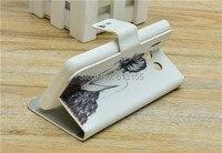 новинка милый флип кожаный чехол для Huawei g615 мышь G600 u8950d бесплатная доставка