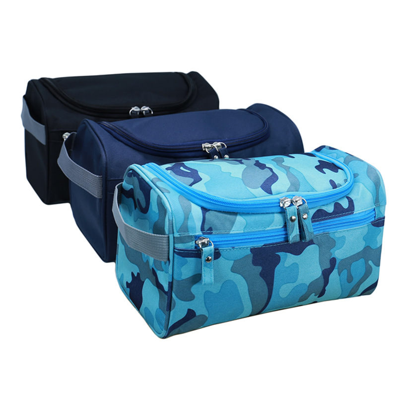 Men's Travel Cosmetic Bags Waterproof Handbags Large Capacity Travel Goods Storage Multiple Color Options