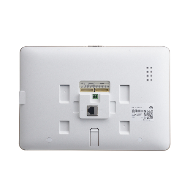 Indoor Video Intercom DS-KH8501-A with 10'' Color Touch Screen 8 Access 0.3MP Camera TF Car Upto 128G