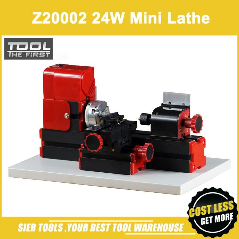 Z20002 Mini metal Lathe 24W 20000rpm metal chuck lathe didactical DIY lathe