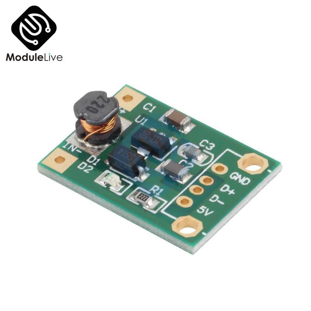 Convertisseur de poussée 600mA DC-DC Mini Module de puissance 1-5 V à 5 V convertisseur de poussée de poussée pour Arduino