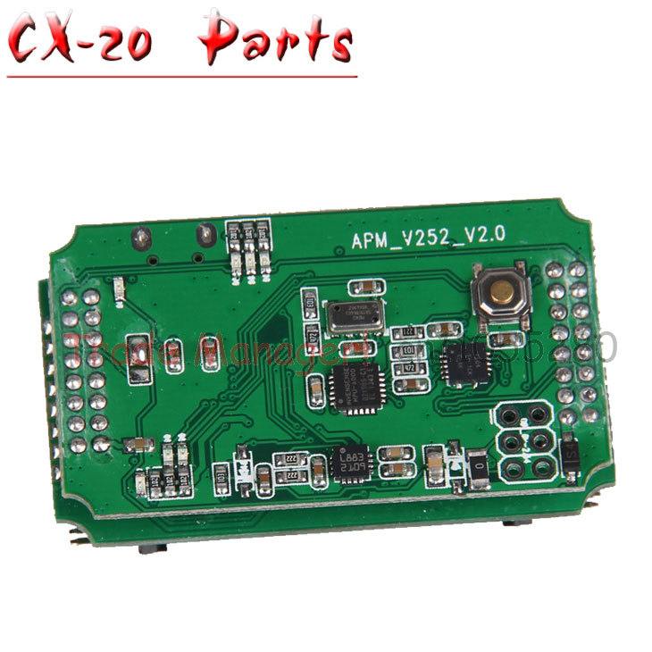 Free shipping CX-20 RC Drone Helicopter Quadcopter Parts Flight control circuit board pcb for Cheerson Auto-Pathfinder free shipping body shell cover set frame chassis for cheerson auto pathfinder cx 20 rc drone quadcopter parts helicopter