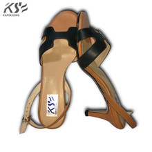 2017 Genunine Кожаные сандалии Роскошные Дизайнерские H женские на высоком каблуке пикантная обувь летние дышащие удобные из сетчатого материала женская обувь