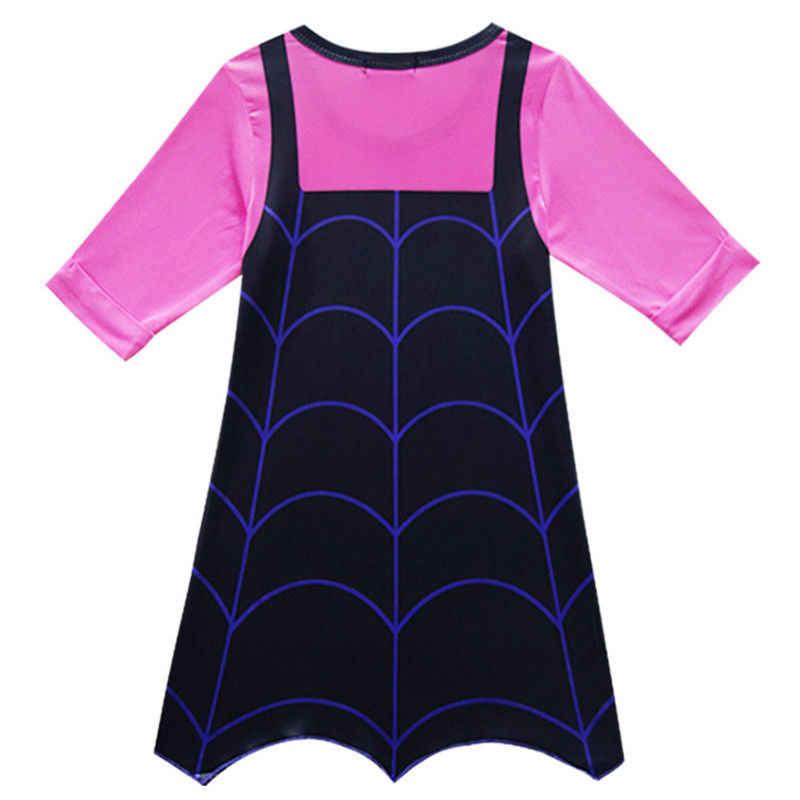 ใหม่ Vampirina ชุดเดรสสำหรับสาวเจ้าหญิงชุดวันเกิดเด็ก Cosplay เครื่องแต่งกายเด็กเสื้อผ้าฤดูร้อน Vestido vestir 3-12 Y