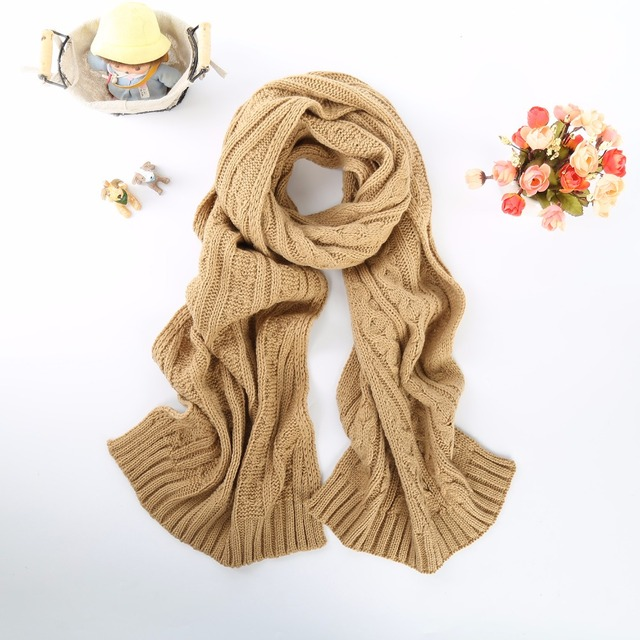 Luxury Fashion brand scarf yoke Cashmere femme knitting thickness echarpe Soft Long Scarves Fashion Warmth stole women Scarf