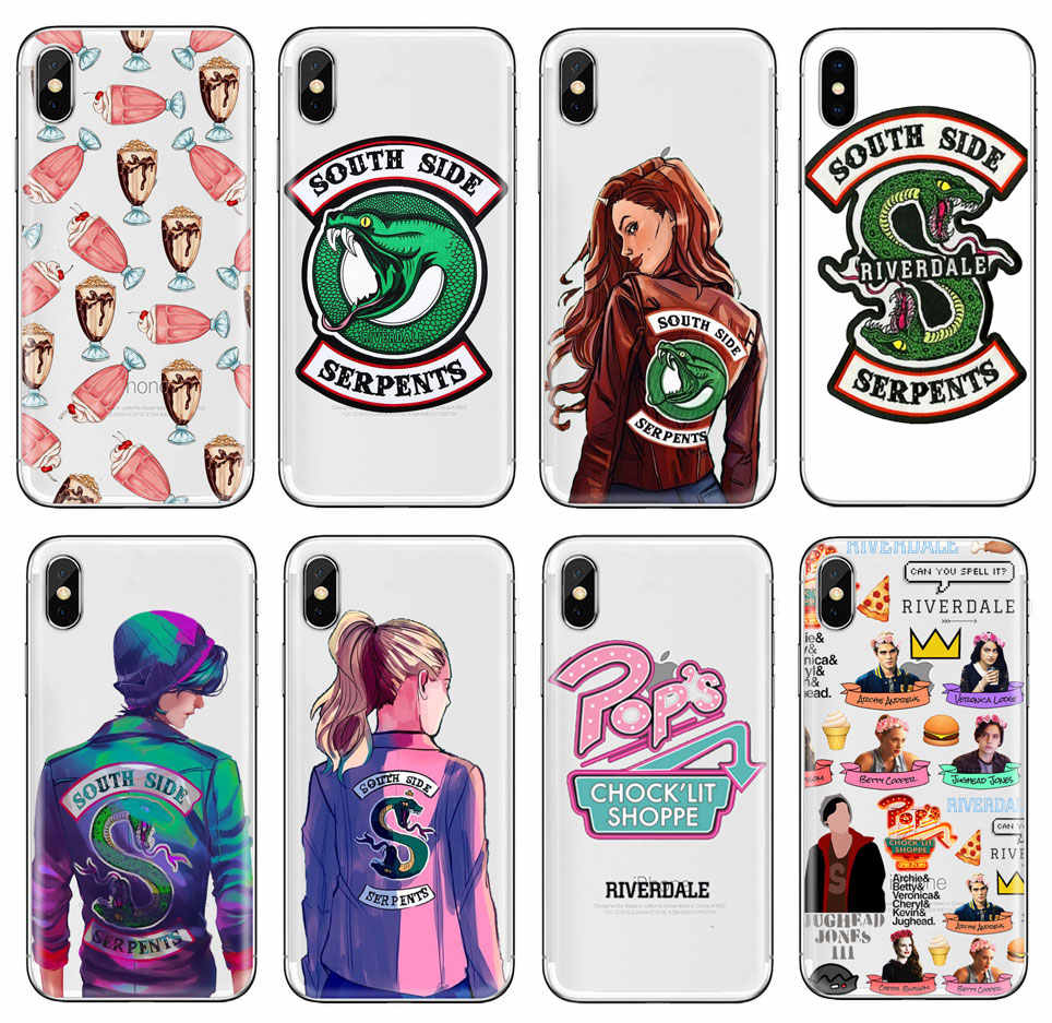 Riverdale TV Show pops phone Case For huawei P20 P8 P9 P10 Lite mate 20 lite For iphone 7 6s 5S XR XS MAX Soft TPU Silicone case