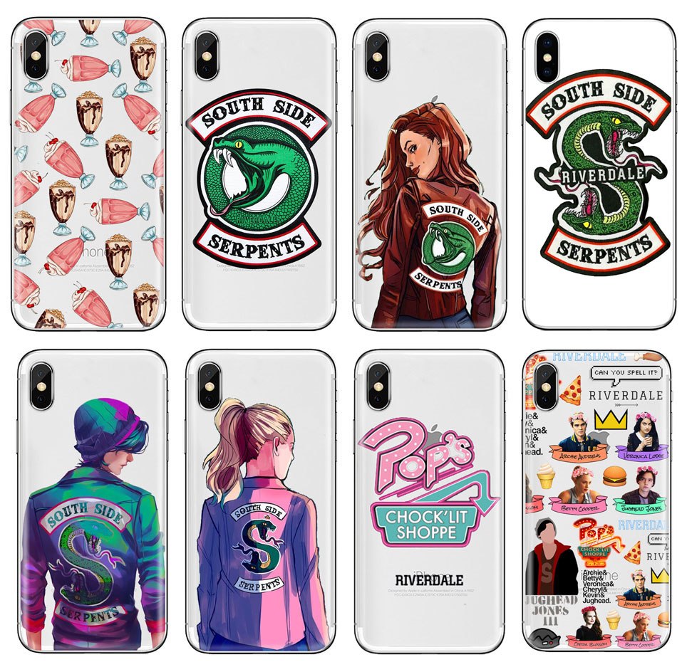 <font><b>Riverdale</b></font> TV Show pops phone <font><b>Case</b></font> For huawei P20 P30 Lite mate 20 lite For <font><b>iphone</b></font> 11 pro 7plus 6s 5S XR XS MAX TPU Silicone <font><b>case</b></font> image