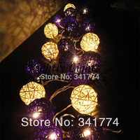 LED Vintage Ball String Lights Curtain Lamp Garland Home Garden Outdoor Event Party Wedding Christmas New