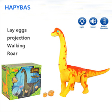 Buy New Electric toy large size walking dinosaur robot With Light Sound Brachiosaurus Battery Operated kid Children Boy Girl Gift directly from merchant!