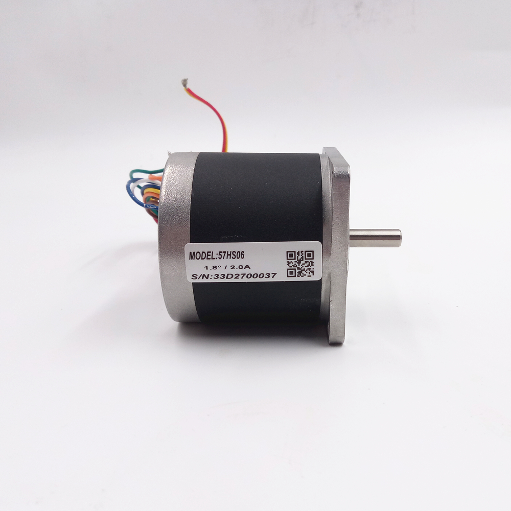 Leadshine 2-phase Stepper Motor 57mm Stepper Drive Motor NEMA23 Stepper Motor China Step Motor 57HS06 2.0A 0.6N.M New 2 phase stepper motor and drive m542 86hs45 4 5n m new