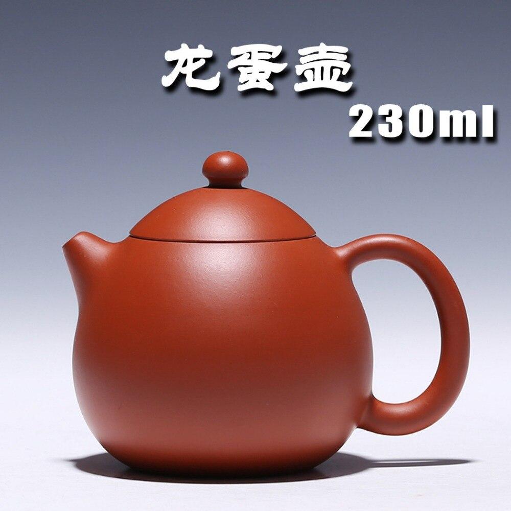 2017 Yixing théière célèbre pure à la main dragon oeuf théière Zhu boue théière véritable spécial en gros