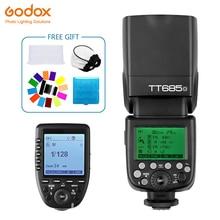 Godox TT685 TT685O Speedlite Flash Wireless TTL+Xpro-O Wireless Trigger Flash for Olympus Camera E-M10 E-M5 II E-M1 e-PL8 7 5mm f2 8 fisheye manual fish eye lens for olympus panasonic micro 4 3 m4 3 mount e m1 e m1 mark ii e m5 e m5 mark ii e m10