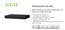 DAHUA 16/32 Channel 1U 16PoE 4K&H.265 Lite Network Video Recorder Without Logo NVR4216-16P-4KS2/NVR4232-16P-4KS2
