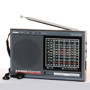 Image 3 - TECSUN R 9700DX Fm Radio Original Guarantee SW/MW High Sensitivity World Band Radio Receiver With Speaker Portable Radio