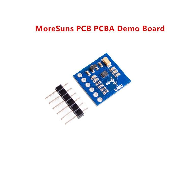 Free Ship 10pcs MAG3110 3-Axis Digital Magnetometer I2C Interface Development Board TOP Board