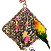 2018 estilos Aves Juguetes loro grande Juguetes actividad pared jaula del loro del juguete del pájaro Juguetes moda colgante