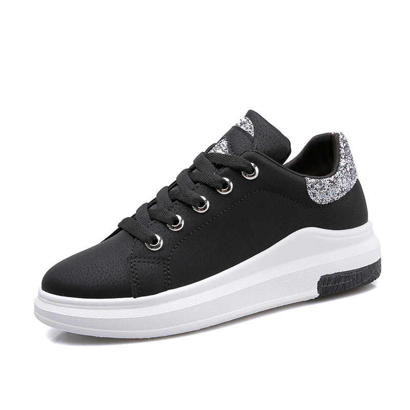3a4d3c04 ... Фуцзинь бренд 2018 весна женские новые кроссовки осень мягкая удобная  повседневная обувь модная женская обувь на ...