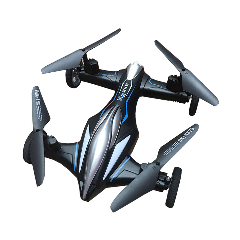 XX8 Dual mode RC car and optical positioning drone with high hold function foldable drone with