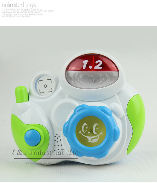 New Year Toy Phone For Baby Music Camera Best Kids Plastic Toy For Child Play CT21005-11^^EI