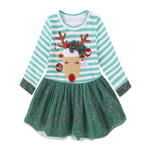 b522a2ca8dcb7 أطفال حكايات بنات موضة اللباس الطفل بنات ملابس أطفال فساتين عيد للفتيات  الشتاء طويلة الأكمام للأطفال