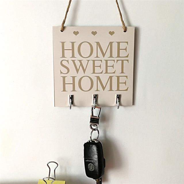 Diy Wooden Plaque Gift Pendant Tag Wooden Vintage Hanger Board Sweet