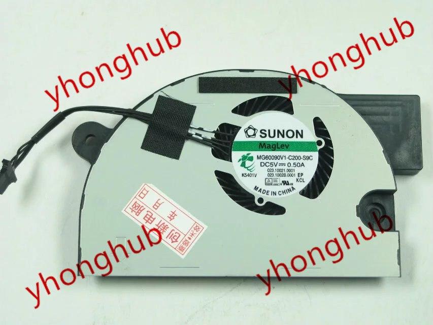 SUNON MG60090V1-C200-S9C DC 5V 0.50A    Bare Fan доска для объявлений dz 5 1 j9c 037 jndx 9 s c