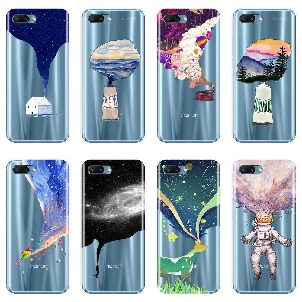 TPU Art Star Silicone Phone Case For Huawei Honor 8X MAX 10 9 8 7 Soft Back Cover For Huawei Honor 7 8 9 10 Lite 7S 7X 7A 7C Pro