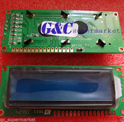 1602 16x2 HD44780 Character LCD Display Module LCM BULE light GOOD QUALITY