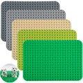 Nuevos grandes ladrillos placa base 38*27 cm 24*17 puntos placa base compatible con las principales marcas de bloques de los niños diy bloques de construcción de juguete