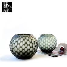 Export hand carved glass vase floral ornaments jewelry table Home Furnishing soft outfit simple fashion style