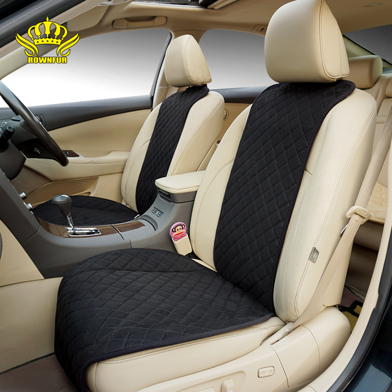 ROWNFUR New Seat Cover Universal Car Accessories Four Seasons Car Seat Cover For Front Back Seat Covers Car Interior Accessories