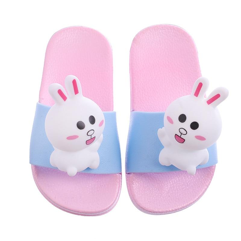 XINBONG Sandals for Boys Girls Beach Sandals Anti-Slip Bath Slippers Shower Shoes Indoor Floor Slipper