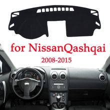 Car Dashboard Avoid light Pad instrument Platform Desk Cover Mats Carpets For Nissan Qashqai 2008   2015  Automotive interior