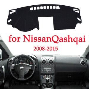 Image 1 - Evitar A luz do Painel Do carro instrumento Pad Cover Secretária Plataforma Mats Tapetes Para Nissan Qashqai 2008 2015 interior Automotivo