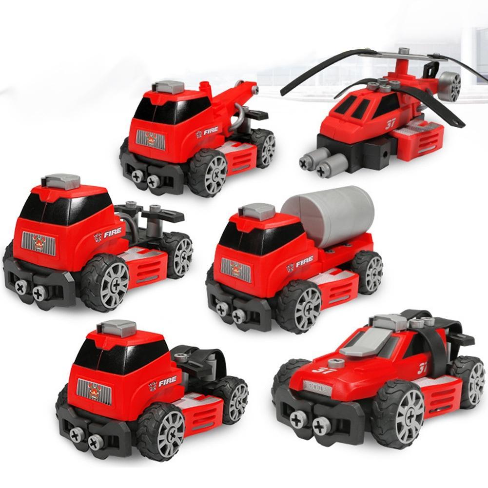 все цены на LeadingStar Crane Truck Engineering Transformation Assembling Car Deformation Toy Construction Vehicle Kids Toys Christmas Gifts