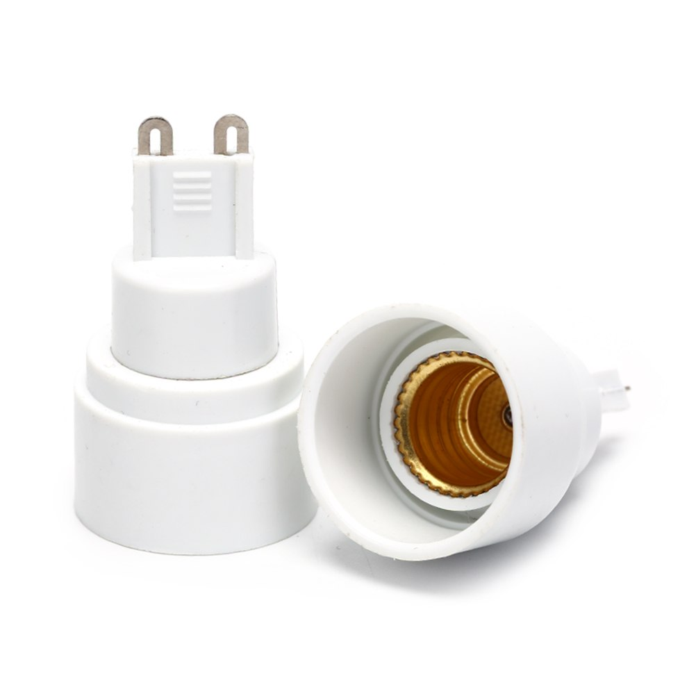 1pcs G9 To E14 Socket Base For Halogen CFL Light Bulb Lamp Adapter Converter Holder Light Bulb Base Socket Conversion