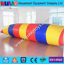цена на Free shipping 6*2m inflatable water blob for sale with free CE/UL pump and repair kit