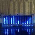 Suíte de produção de exibição kit DIY SCM LED espectro música remendo flash LED brilho de treinamento eletrônico DIY suíte música (azul cor)