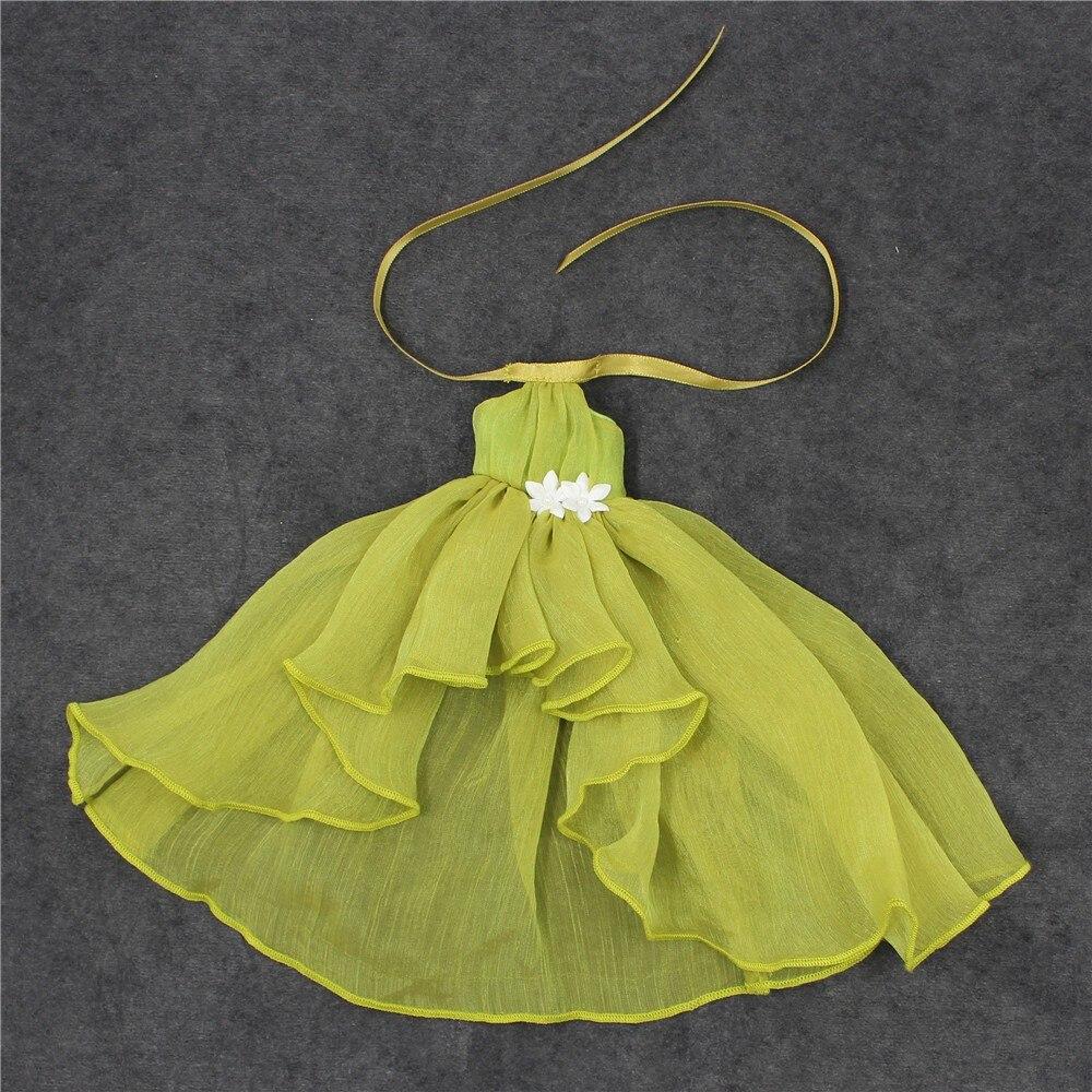 Neo Blythe Doll Chiffon Dress with Flower 20